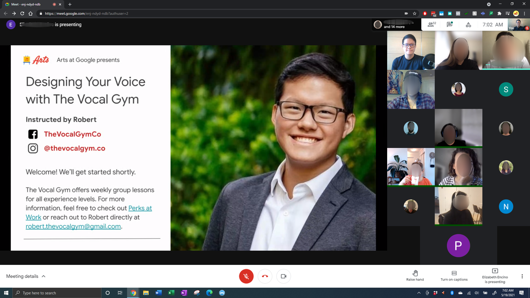 Designing your Voice - Google Arts at Work